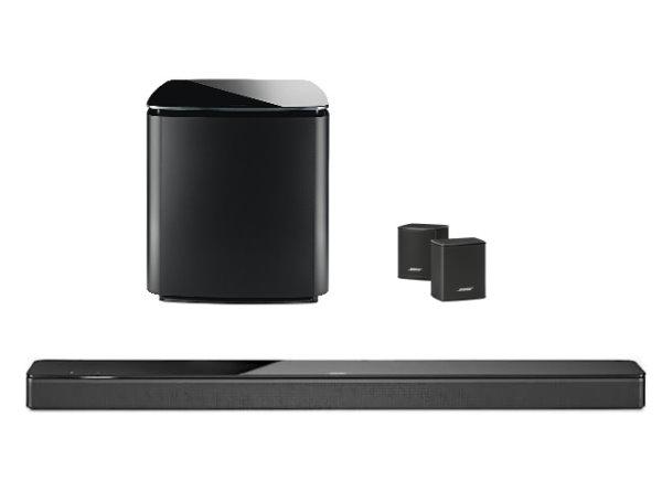 美國 Bose Soundbar 700+Bass Module 700+Surround Speakers 家庭娛樂揚聲器(公司貨)