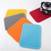 創意硅膠鍋墊 餐墊隔熱墊防滑墊瀝水墊 盃墊盤墊歐式簡約   LannaS