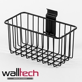 法國品牌 walltech 淺型籃 中款(S) W20CM 黑色烤漆款