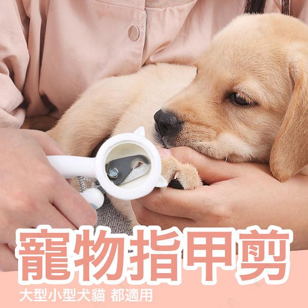 【防飛濺/不銹鋼】寵物修指甲 寵物指甲剪 寵物指甲刀 不銹鋼指甲剪【AAA6413】預購