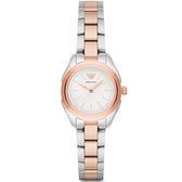【台南 時代鐘錶 Emporio Armani】亞曼尼 AR11029 義式品味 都會俐落美學時尚腕錶 玫瑰金 32mm