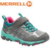 【MERRELL 美國 兒童MOAB FST LOW 健行鞋《灰藍》】ML57092/健行/運動鞋★滿額送
