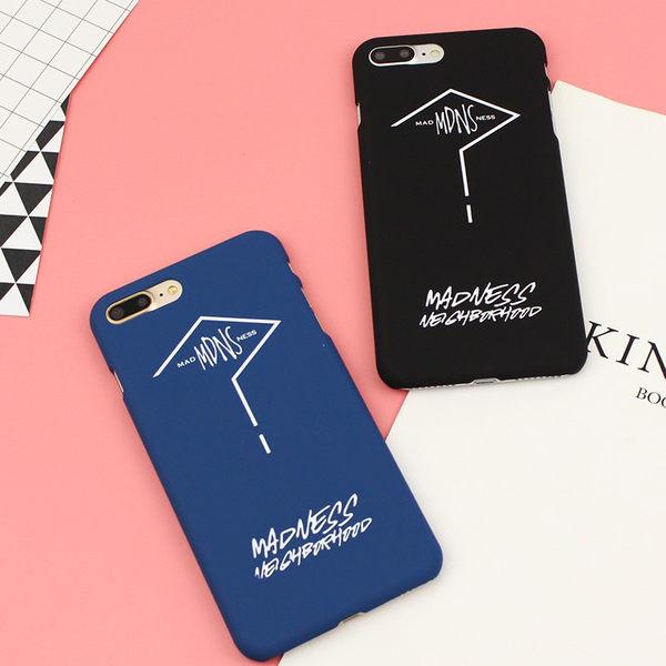 【SZ15】 iPhone 7/8 plus問號情侶全包 iphone6 手機殼 iPhone7/8硬殼iphone 6plus防摔手機保護