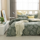 鴻宇 雙人薄被套床包組 100%精梳純棉 莫凡比 台灣製C20103