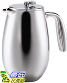 [美國直購] Bodum Columbia 咖啡壺 34 Ounce Stainless-Steel 1308-16 Columbia 8-Cup Coffee Press Pot_TB1