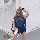 女裝外套女正韓學生寬鬆百搭bf短款夾克港風棒球服女優樂居生活館