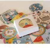 [拉拉百貨]動物 特輯貼紙 一盒38入 包裝貼 手帳貼 裝飾 貼紙