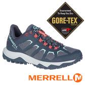 【MERRELL 美國】FIERY 女GORE-TEX多功能健行鞋『深藍/紅』99684 機能鞋.多功能鞋.休閒鞋.登山鞋