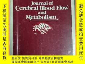 二手書博民逛書店英文書罕見journal of cerebral blood fllow and matabolism 腦血流動與