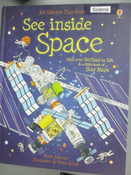 【書寶二手書T4/少年童書_PDK】See Inside Space_Katie Daynes,Peter Allen