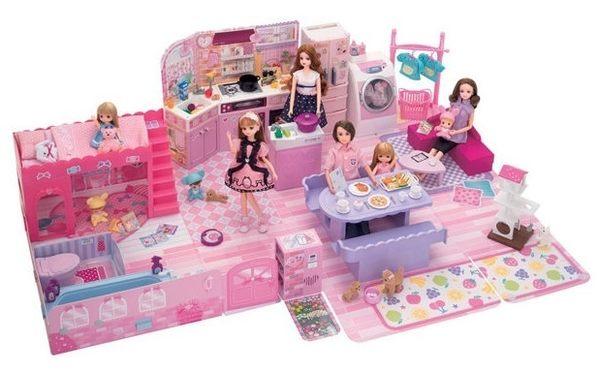 *粉粉寶貝玩具*日本TAKARA TOMY-LICCA 莉卡甜蜜家庭豪華組