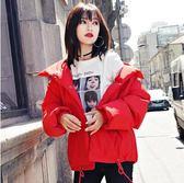 VK精品服飾 韓國風保暖氣質純色原宿風單品外套