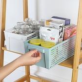 【BlueCat】長形洞洞手持收納盒 (大) 萬用 洞洞 收納籃 置物盒 桌面收納 廚房收納 置物架