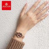 聚利時女士手錶學生韓版時尚潮流防水石英錶鋼帶款手錶女簡約腕錶