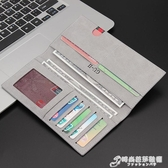 男士錢包長款新款潮牌皮夾復古卡包學生超薄簡約高檔韓版一體 雙十二全館免運