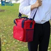 BOTTA DESIGN牛津布飯盒袋保溫包戶外野餐包防水大容量手提便當包 【韓語空間】