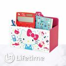 ﹝Kitty45週年收納小物盒﹞正版 收納盒 筆筒 置物盒 面紙盒 凱蒂貓〖LifeTime一生流行館〗