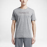 Hurley ONE & ONLY OUTLINE TRI-BLEND T恤-男(灰)