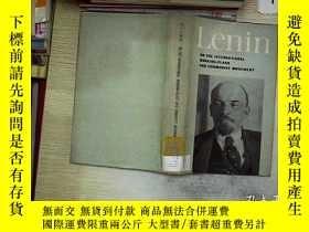二手書博民逛書店Lenin罕見ON THE INTERATIONAL WORKING-CLASS AND COMMUNIST MO