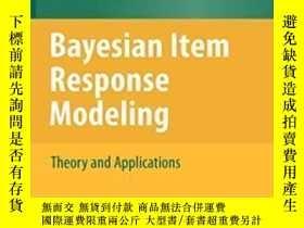 二手書博民逛書店Bayesian罕見Item Response Modeling-貝葉斯項目響應建模Y436638 Jean-