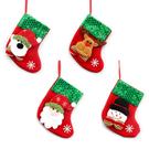 聖誕老公公禮物袋 聖誕節禮物袋 無紡布禮品袋 聖誕老人裝扮 蘋果袋 老人袋子貼畫 88250