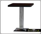 {{ 海中天休閒傢俱廣場 }} C-99 摩登時尚 餐桌系列 456-01 2X2尺美耐板餐桌/電鍍腳(顏色可挑選)