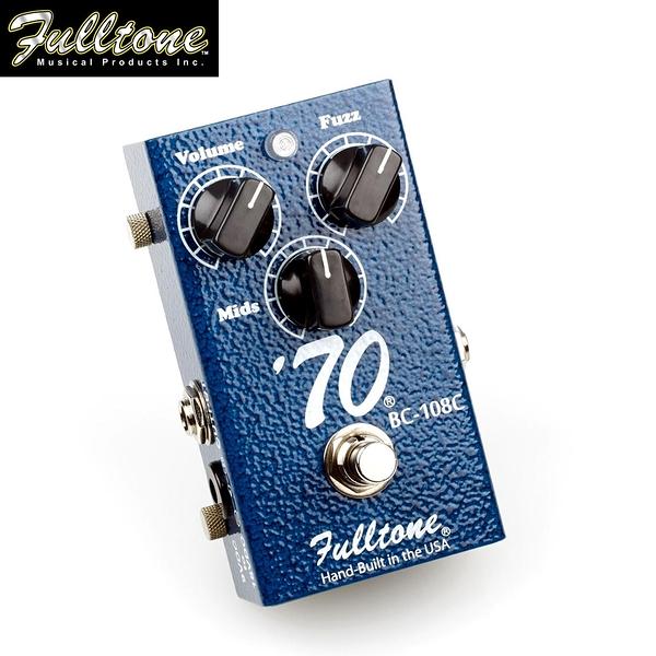 【小叮噹的店】全新 美國 Fulltone 70-BC FUZZ 法茲 單塊效果器 公司貨