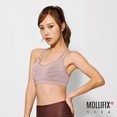 Mollifix 瑪莉菲絲 A++活力雙肩帶舒活BRA (日曬卡其)