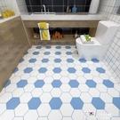 衛生間浴室地板貼紙防水防滑加厚耐磨地貼裝...