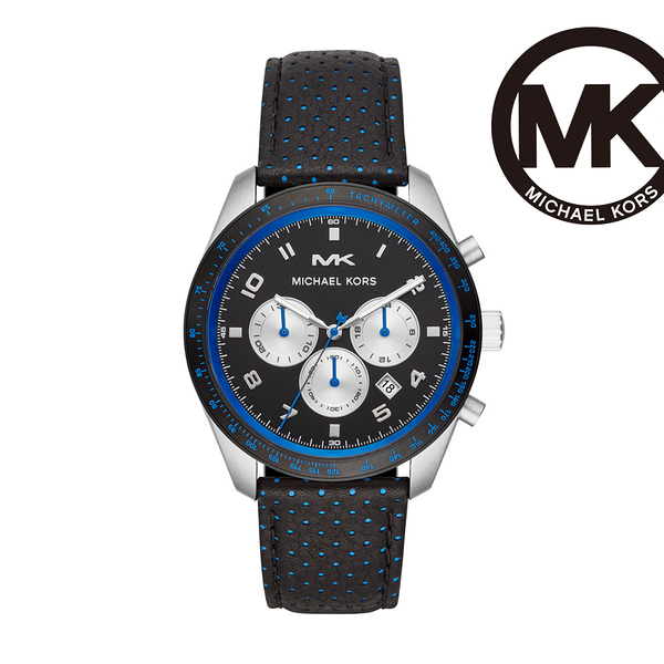 Michael Kors Keaton 三眼計時手錶 43mm MK8706