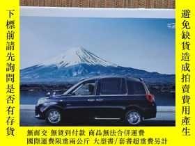 二手書博民逛書店2019年罕見豐田汽車 TOYOTA JPN TAXI 出租車版