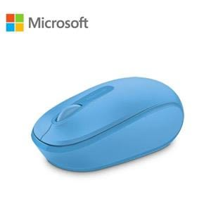 【綠蔭-全店免運】微軟 無線行動滑鼠 1850 - 活力藍 盒裝
