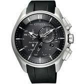 【公司貨保固】CITIZEN 飆風悍將鈦金屬光動能藍牙手機連線腕錶 BZ1040-09E 熱賣中!