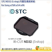 @3C 柑仔店@ STC ND32 (5-stop) 內置型濾鏡架組 for Sony a7SIII a7r4 a9II