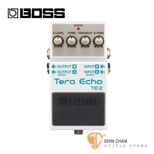 Boss TE-2 回聲效果器【Tera Echo/TE2/電吉他單顆效果器/樂團必備】