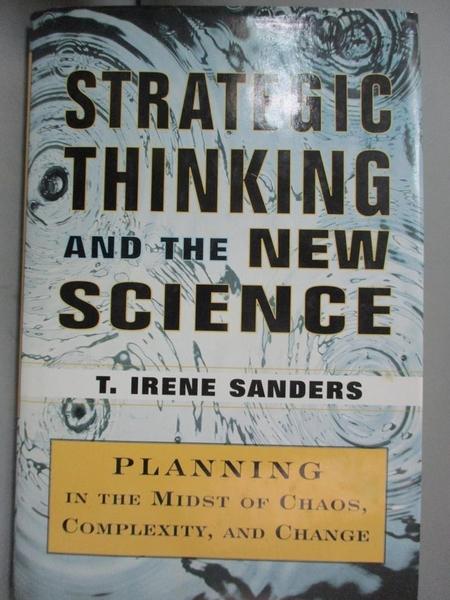 【書寶二手書T1/財經企管_YGT】Strategic Thinking...-Planning in the..._Sanders