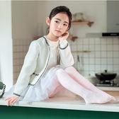 女童內搭褲女童連褲襪加絨加厚秋冬季舞蹈襪兒童白色絲襪練功襪子保暖打底褲伊人閣