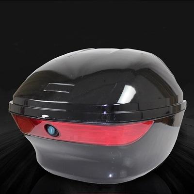 機車後尾箱-堅固耐用加厚靠背摩托車置物箱用品5色73q13【時尚巴黎】