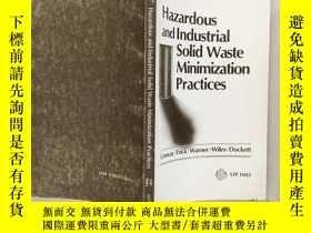 二手書博民逛書店Hazardous罕見and Industrial Solid