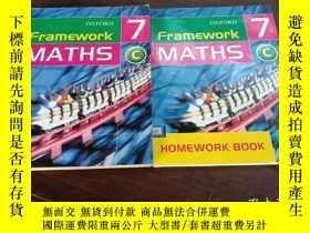 二手書博民逛書店framework罕見maths 7 C,framework m