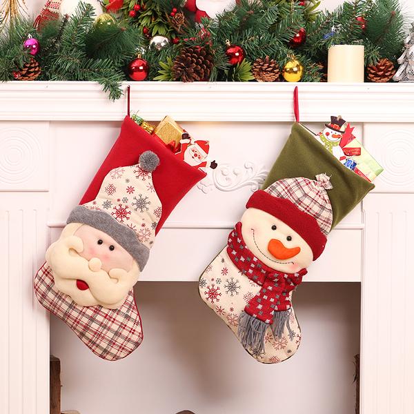 聖誕禮品15  聖誕樹裝飾品 禮品派對 裝飾 聖誕襪 禮物袋