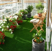 人工草皮人造花藝皮草加厚樓梯塑膠樓梯 球場陽台室內 裝潢草皮 師 訂做