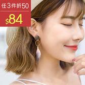 耳環 撞色 羽毛 拼接 圓環 造型 耳環【DD1606148】 BOBI  04/20