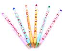 正版Hello Kitty 皮頭自動色鉛筆(六入裝)