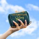 旅行化妝包小號便攜隨身口紅包絲絨時尚粉底收納補妝包【橘社小鎮】