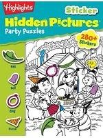 二手書博民逛書店《Highlights Sticker Hidden Pictu