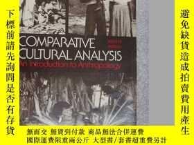 二手書博民逛書店Comparative罕見cultural analysis:A