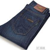 夏季薄款NIANJEEP吉普牛仔褲男直筒修身商務寬鬆大碼純棉男裝中腰 3c優購