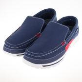 SNAIL  男款休閒帆布鞋-藍 S-2160105
