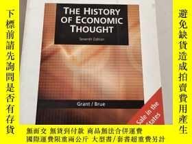 二手書博民逛書店The罕見History of Economic Thought經濟思想史,第七版SEVENTH EDITION[